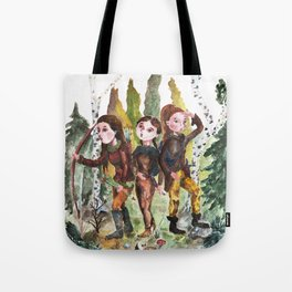 Sarmatian sisters Tote Bag