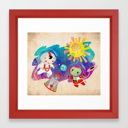 It is a Small World Framed Art Print