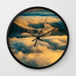 Haleakala Summit Wall Clock