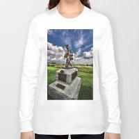 battlefield Long Sleeve T-shirts featuring Marksman by gymmybob