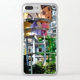 Dora the Explorer Clear iPhone Case