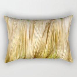 Abstract Fall Grass Rectangular Pillow