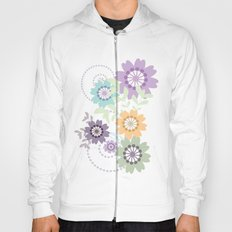 Flowers and Swirls Hoody