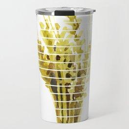 Thanksgiving Sheaf Abstract Minimalist Deco Travel Mug