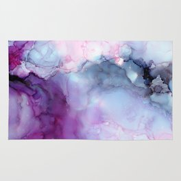 Dreamy storm clouds Rug