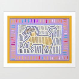 Horse With No Name Art Print