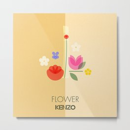 FRAGRANCES / Flower - KENZO Metal Print