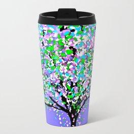 Trees Purple Travel Mug