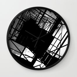 Fire Tower Wall Clock