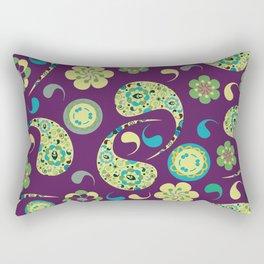 Paisley # 154 Rectangular Pillow
