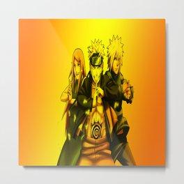 naruto and friends Metal Print