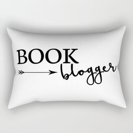 Book Blogger Rectangular Pillow