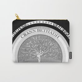 Tree of life (black) Carry-All Pouch