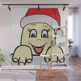 Merry Christmas,Frohe Weihnachten,Joyeux Noël ,Buon Natale,Navidad,Feliz Natal,С Рождеством Wall Mural