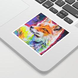 Fox Colors Sticker