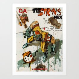 Strong MEX Art Print