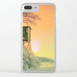 Winter romantic Clear iPhone Case