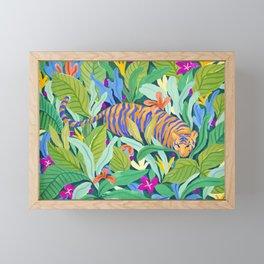 Colorful Jungle Framed Mini Art Print