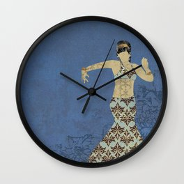 Belly dancer 4 Wall Clock