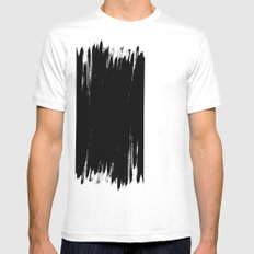 HIGH CONTRAST Mens Fitted Tee White MEDIUM