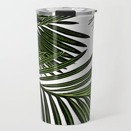 Large Tropical Palm Leaves Travel Mug
