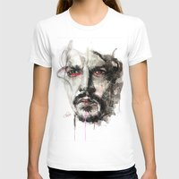 johnny depp T-shirts featuring Johnny Depp by KlarEm