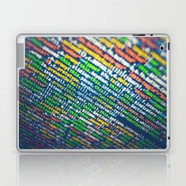 Colorful Code (Color) Laptop & iPad Skin