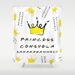 Princess Consuela Bananahammock Shower Curtain