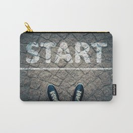 a new start Carry-All Pouch