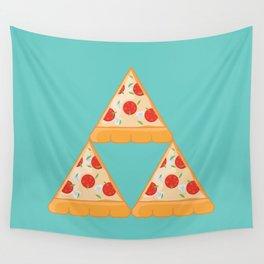 Tri-Pizza Wall Tapestry