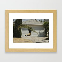 Palm Bag Framed Art Print