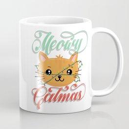 Meowy Catmas Coffee Mug