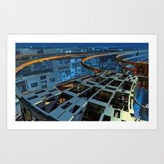 City-zen Art Print