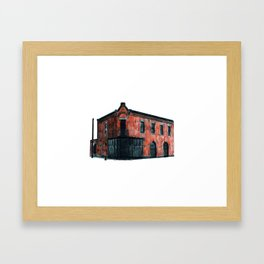 THOMAS O'CONNELL PLUMBING AND HEATING Framed Art Print