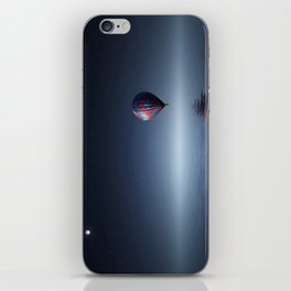 Hot Air Balloon Over Water iPhone Skin