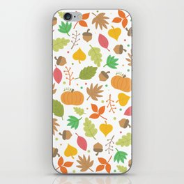 Thanksgiving pattern iPhone Skin