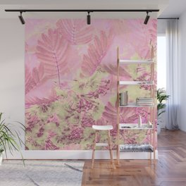 Mimosa Branches Wall Mural