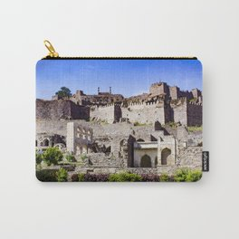 Looking up at Golconda Fort in Hyderabad, India Carry-All Pouch