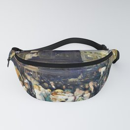 12,000pixel-500dpi - George Wesley Bellows - Cliff Dwellers - Digital Remastered Edition Fanny Pack