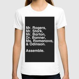 Tribute 1 - Avengers T-shirt