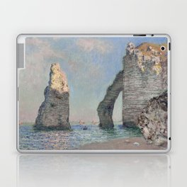 The Rock Needle and the Porte d'Aval by Claude Monet Laptop & iPad Skin