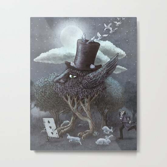 The Magician's Hat  Metal Print