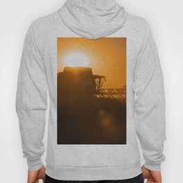 Midsummer time is harvest time of the cereal fields Hoody