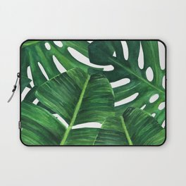 Tropical palm art Laptop Sleeve
