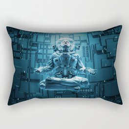 Astro Lotus Rectangular Pillow