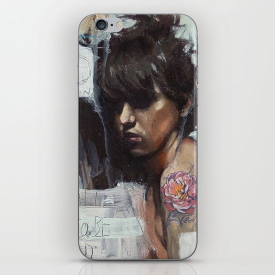 From head to heart iPhone & iPod Skin