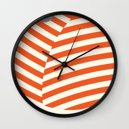 Love and Collision Wall Clock