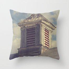 Barn Cupolas Throw Pillow