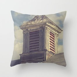 Barn Cupolas Throw Pillow