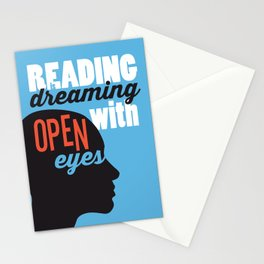 Open Eyes - Just Read Stationery Cards